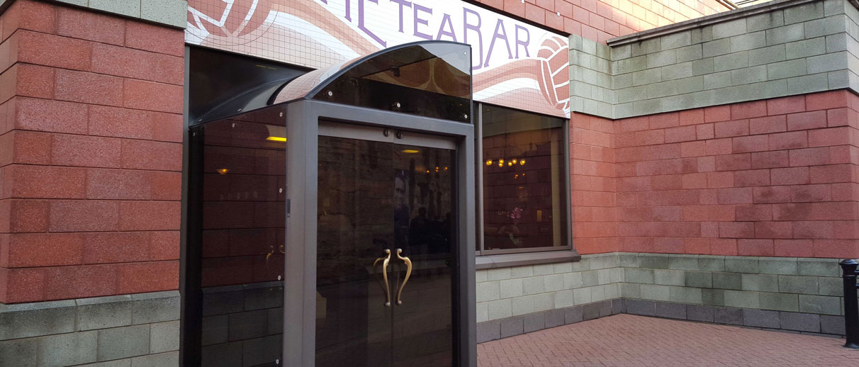 Tea Bar Entrance